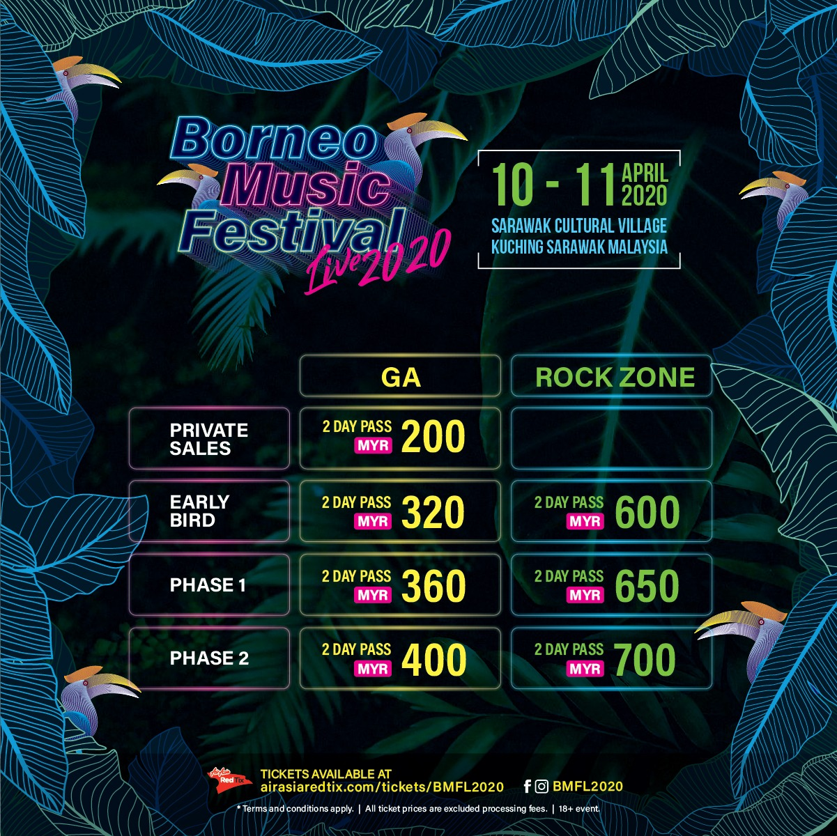 Music Festival Live 2020 ticket