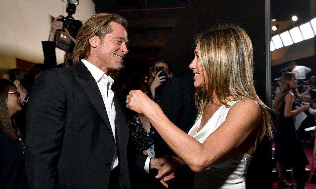 Brad Pitt dan Jennifer Aniston SAG Awards 2020