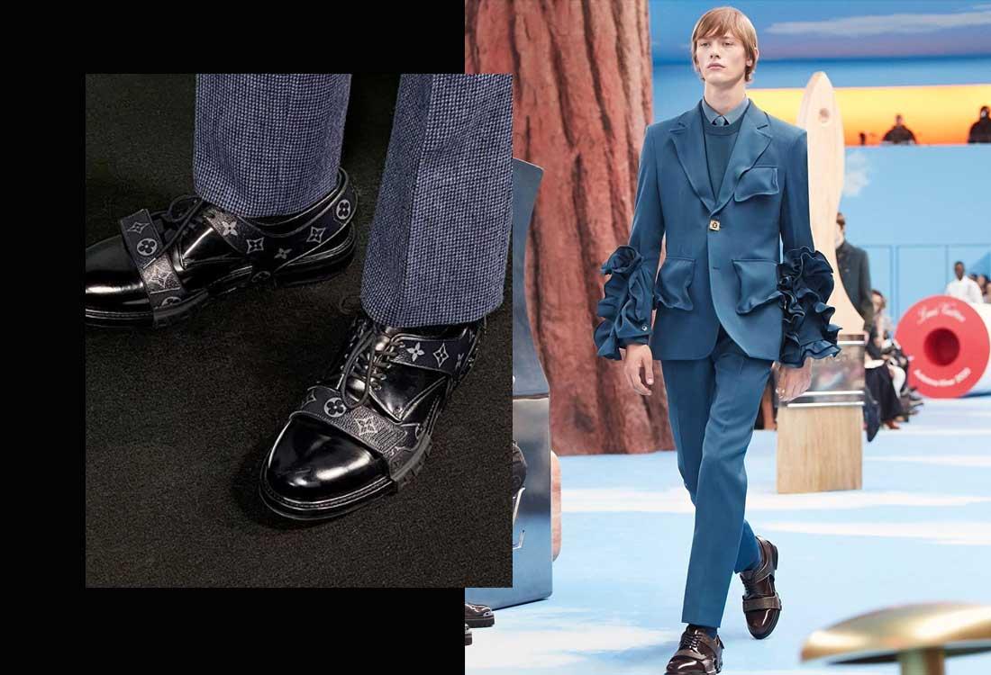 kasut lelaki menswear fall winter 2020