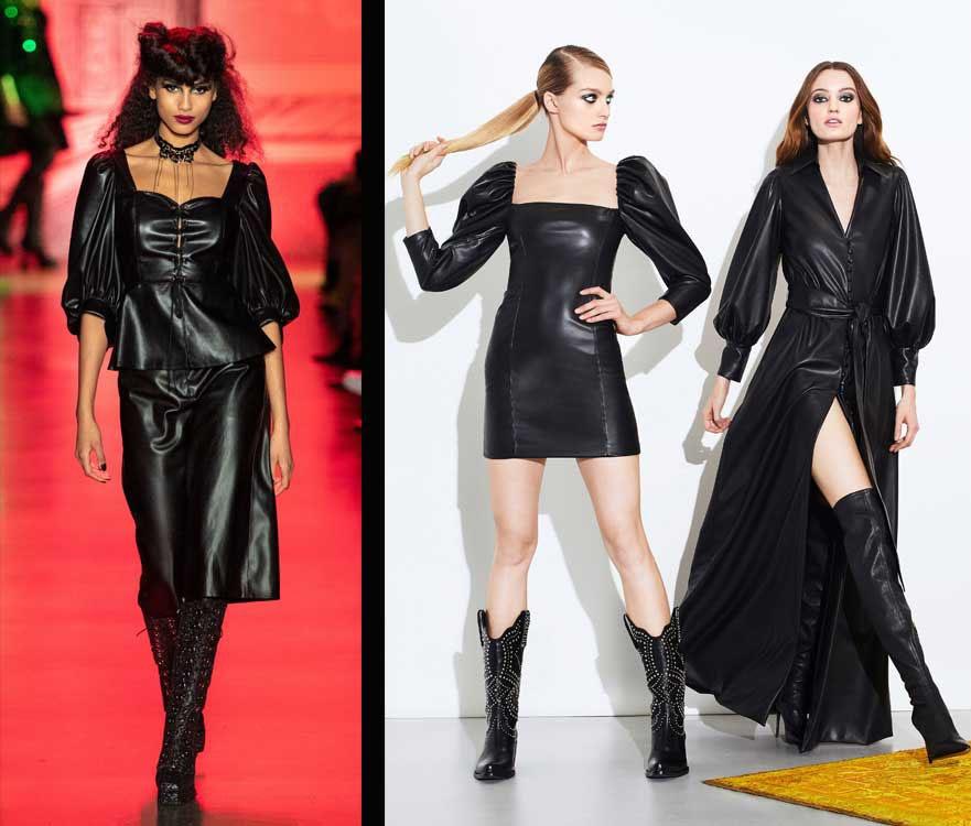 leatherlike couture nyfw fall 2020