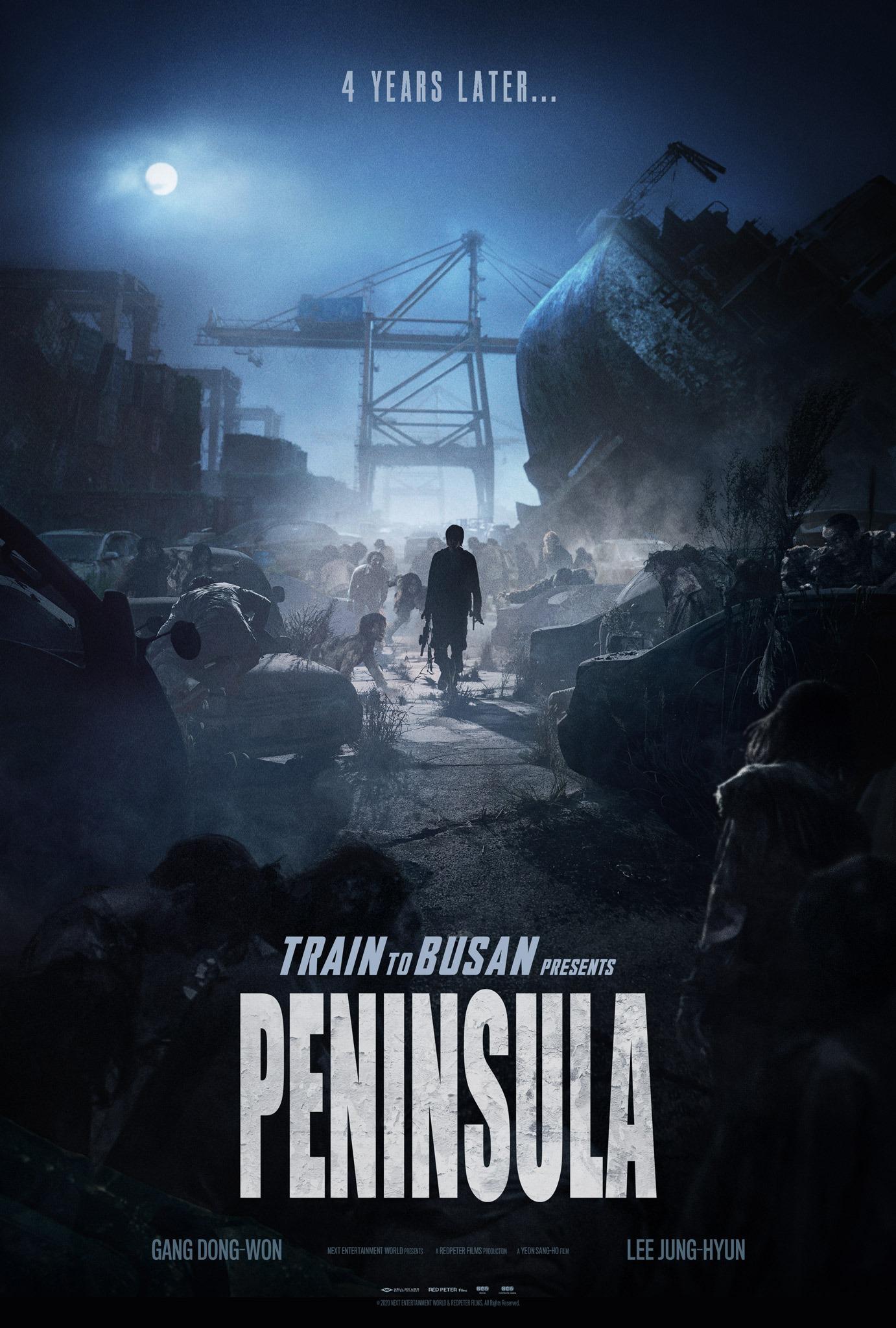 Poster Peninsula – 4 Tahun Kemudian Selepas Train To Busan