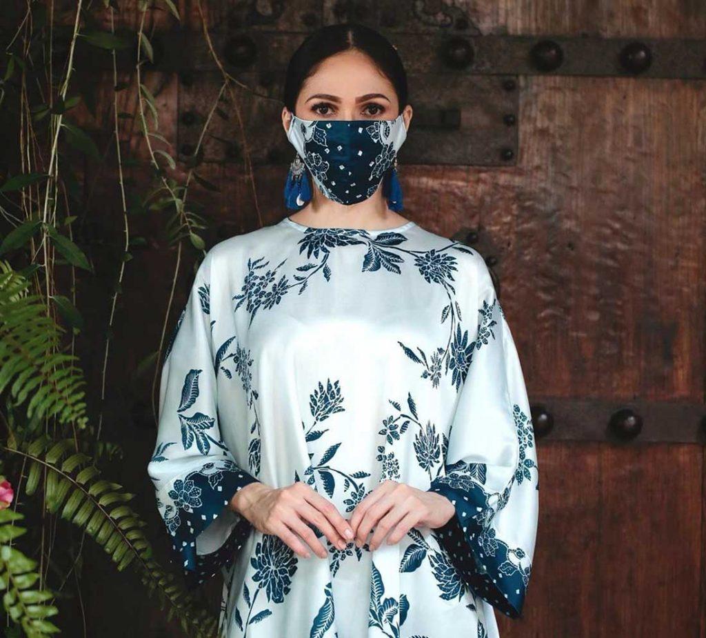 pelitup muka fesyen lokal malaysia