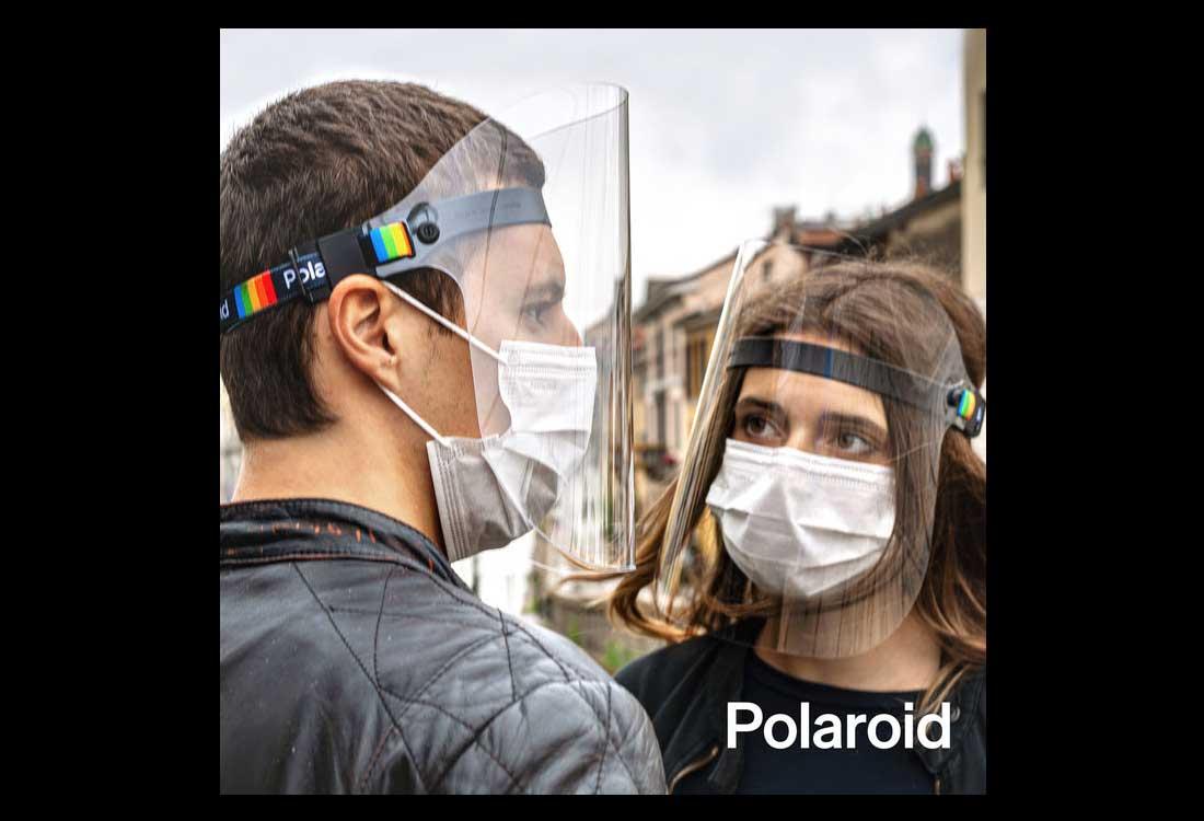polaroid stay safe covid 19