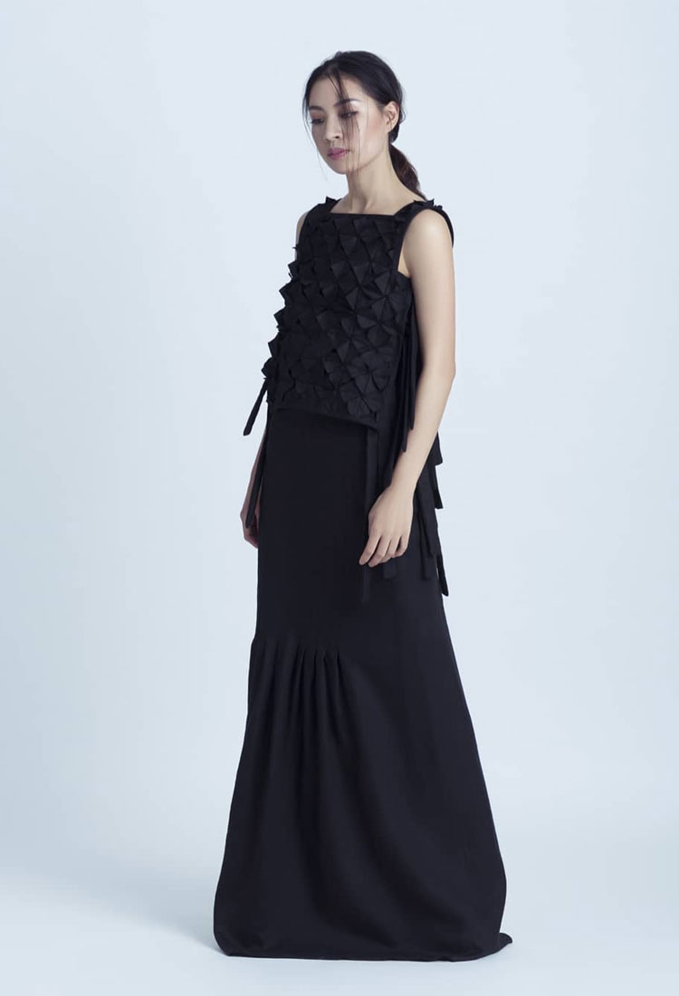 pereka fesyen sarawak hari gawai
