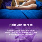 Strip Lancar Kempen Help Our Heroes #StripSupportsYou