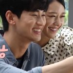 Kim Soo Hyun & Seo Ye Ji Gembira Ambil Gambar Bersama di Set 'Its Okay Not To be Okay'