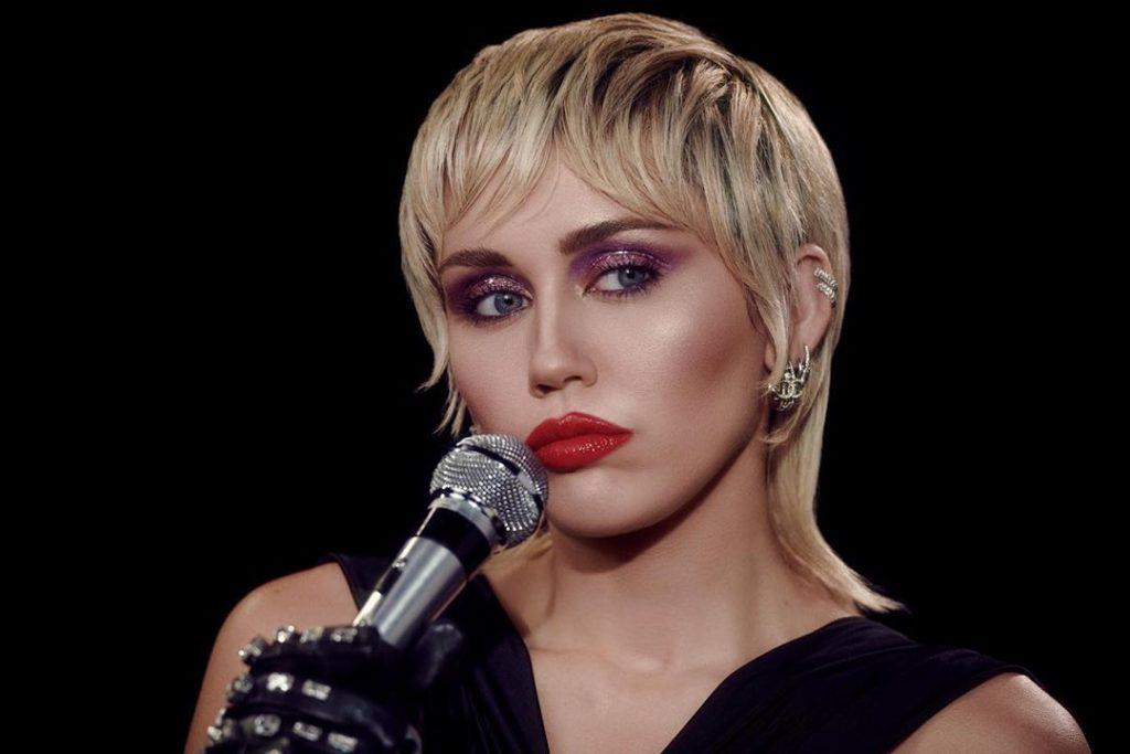 Mekap Disko Miley Cyrus