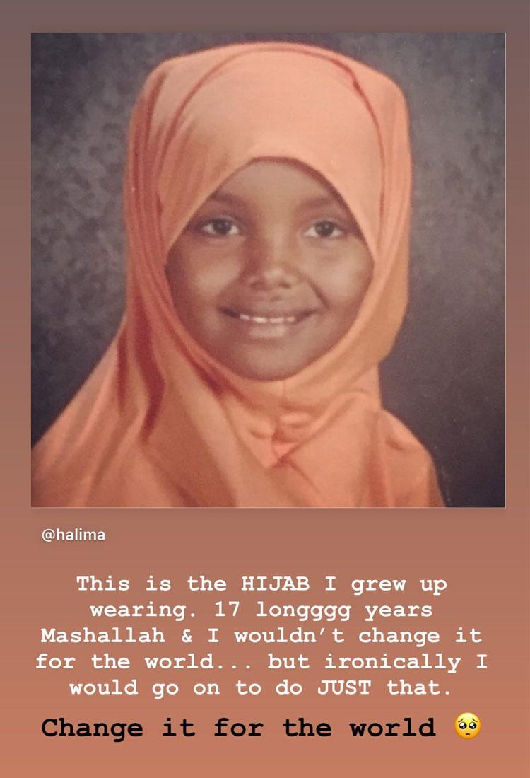 halima aden hijab journey instagram