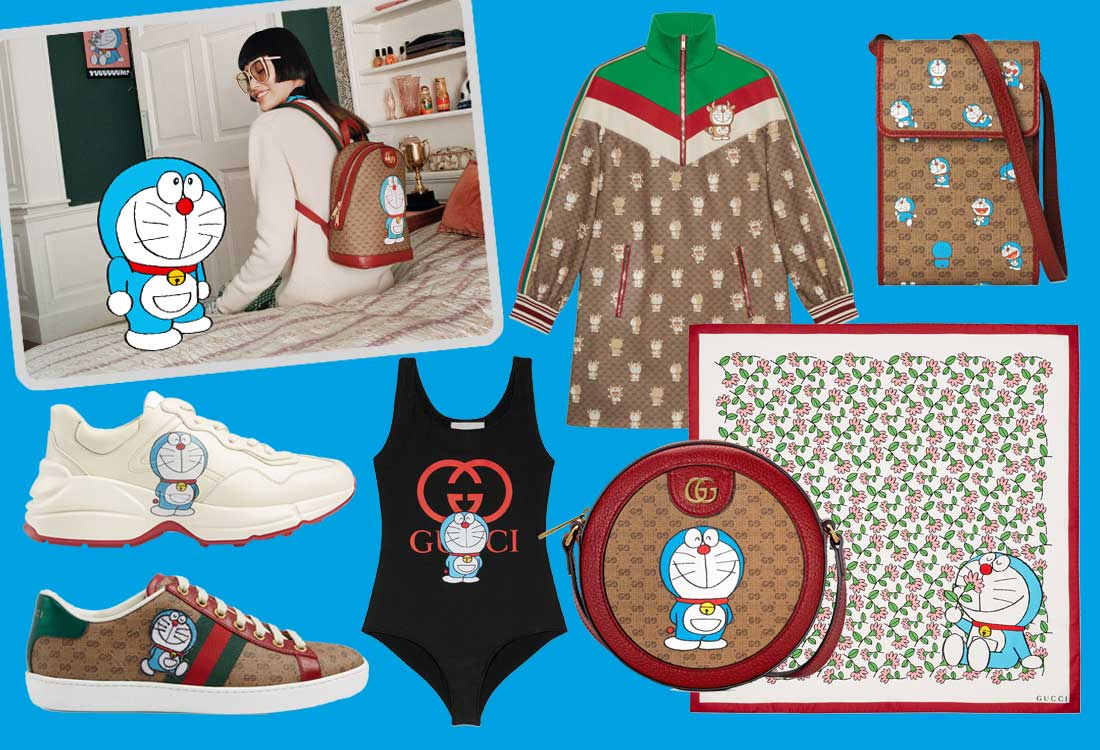 doraemon gucci lunar new year 2021